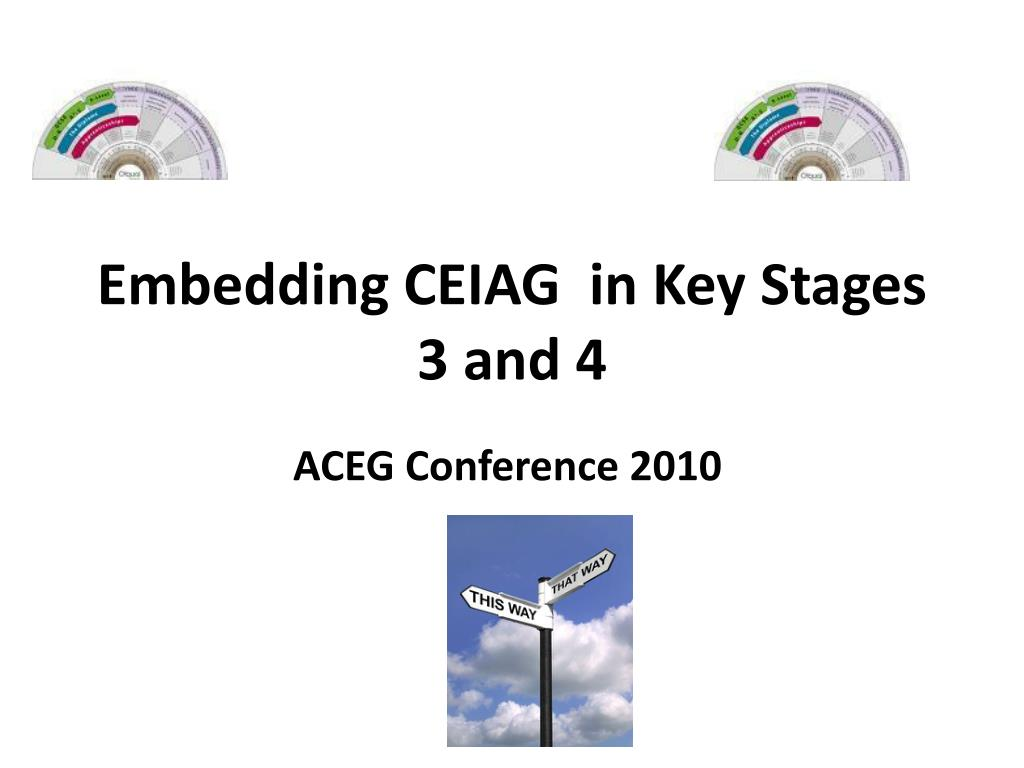 Embedding CEIAG  in Key Stages 3 and 4