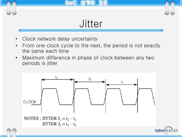 NOTES : JITTER J