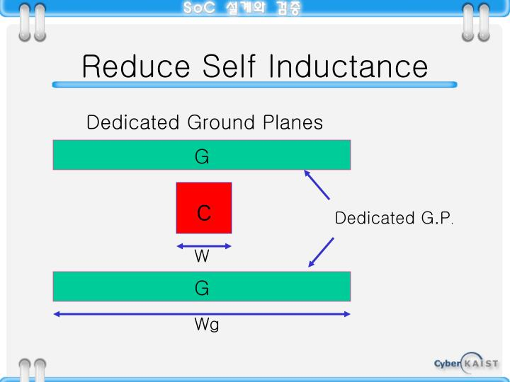 Reduce Self Inductance