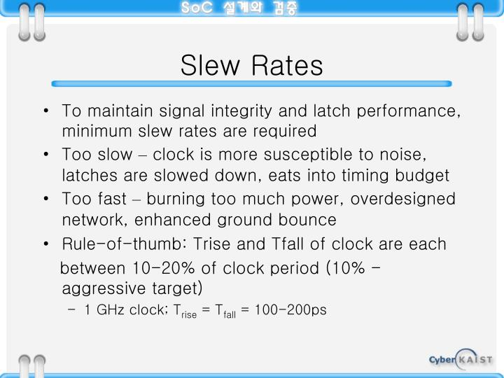 Slew Rates