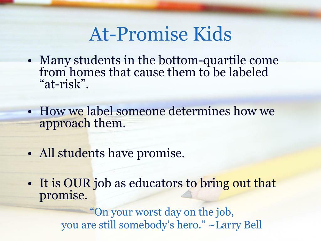 At-Promise Kids