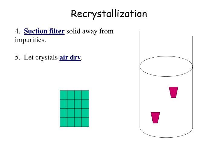 Recrystallization Room Temperature