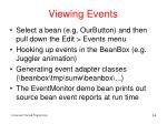 viewing events