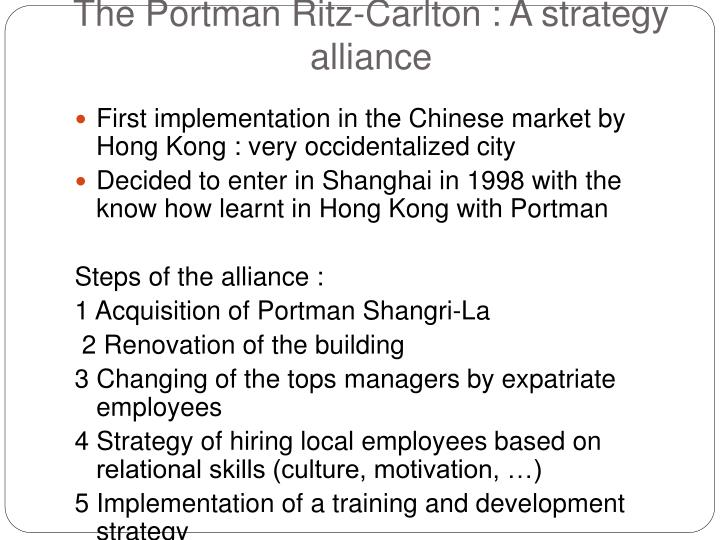 motivational strategies of the ritz carlton Do you really want to delete this prezi  how the portman ritz carlton hotel gets the best from its people  motivational strategies.