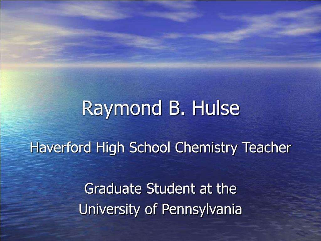 Raymond B. Hulse