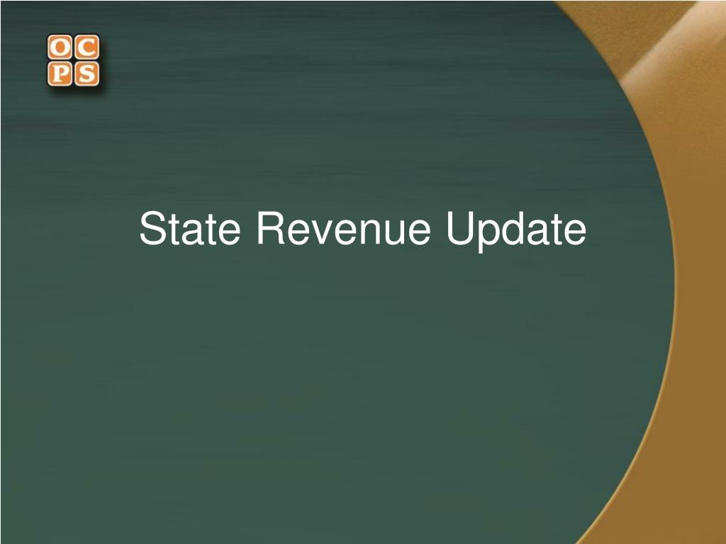 State Revenue Update