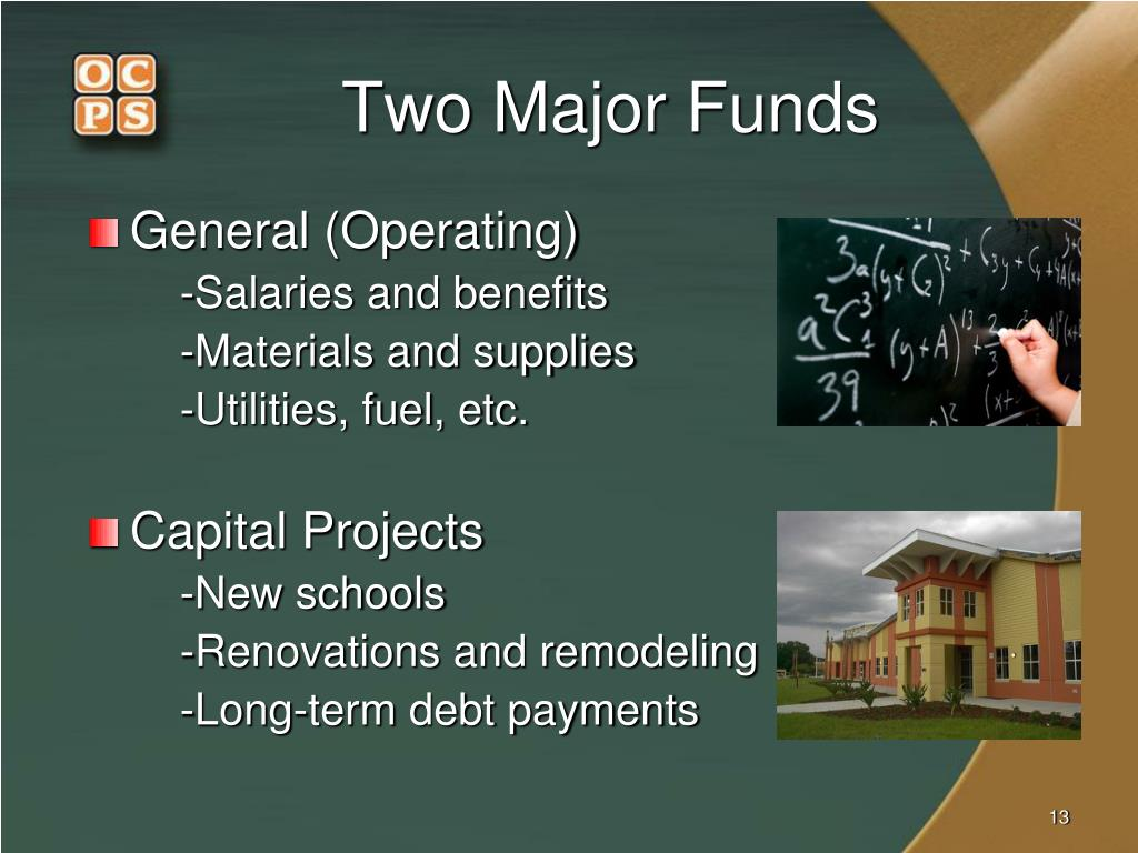 Two Major Funds