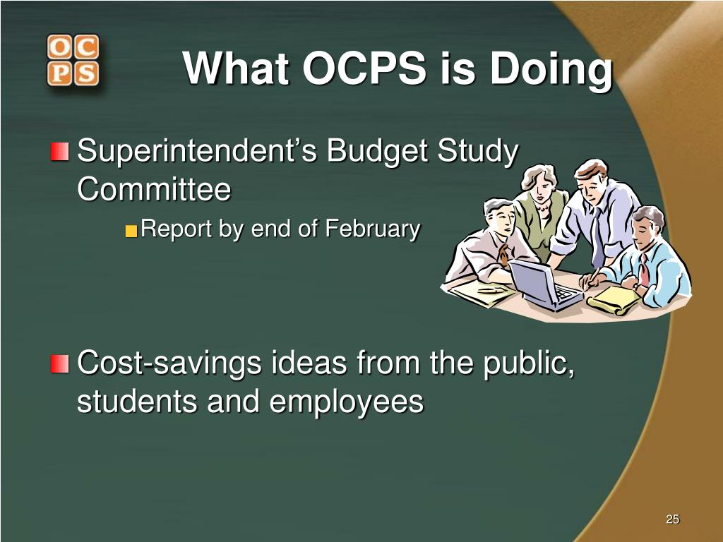 What OCPS is Doing