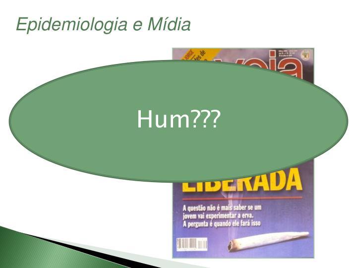 Epidemiologia e Mídia