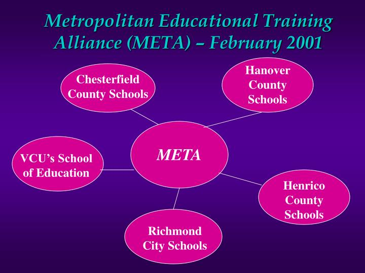 Metropolitan educational training alliance meta february 2001