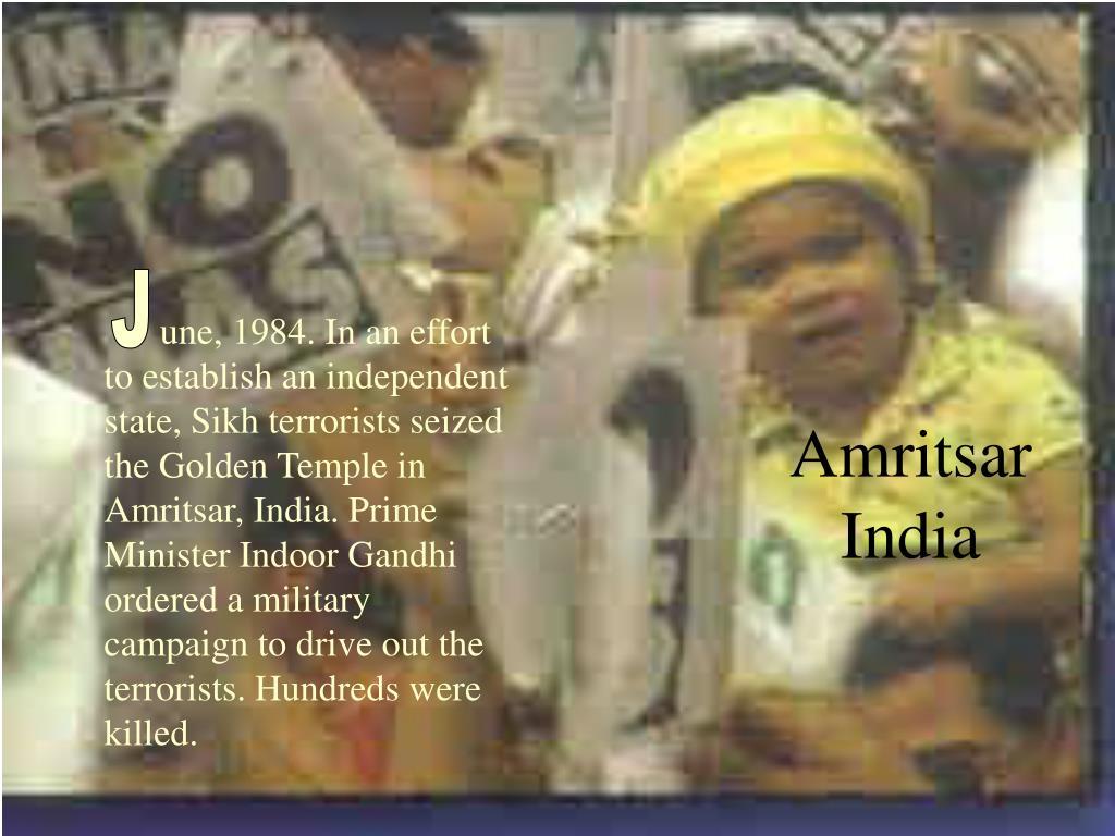 Amritsar India