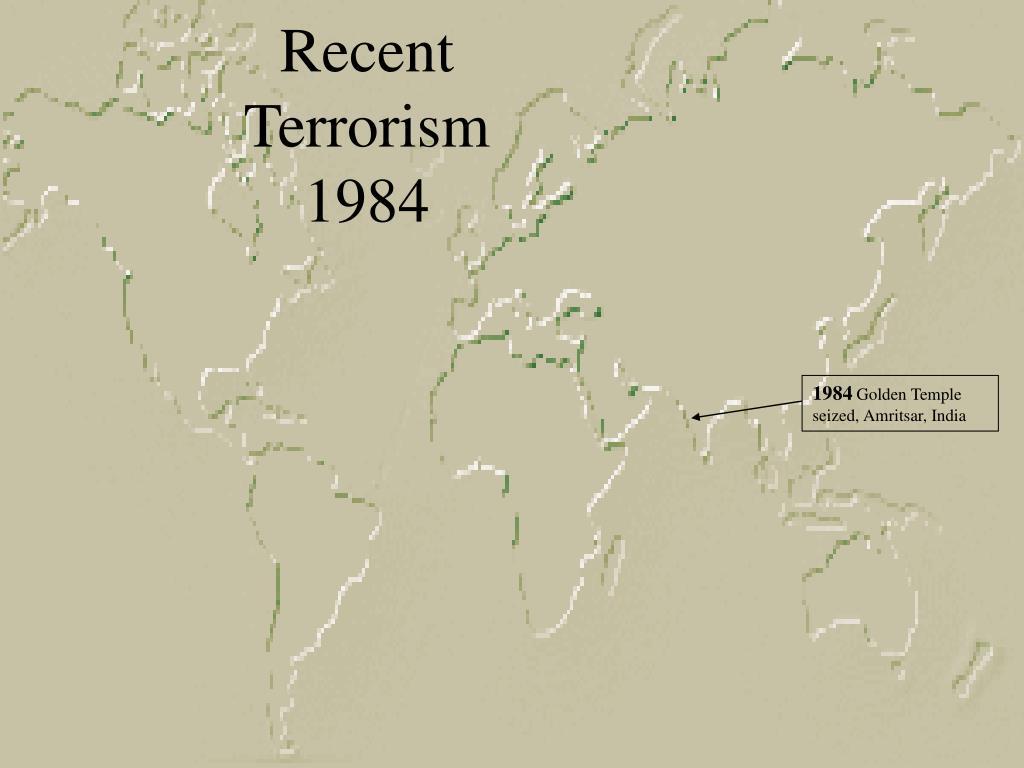 Recent Terrorism