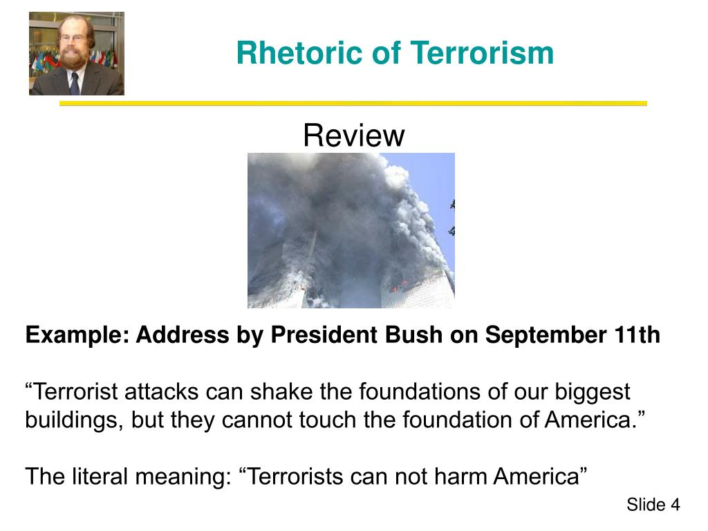 Rhetoric of Terrorism