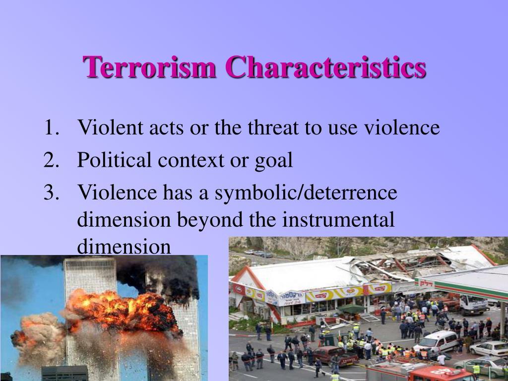Terrorism Characteristics