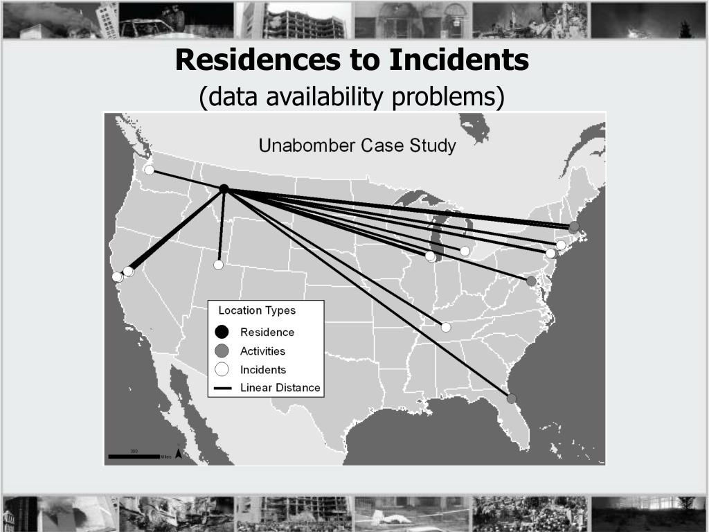 Residences to Incidents
