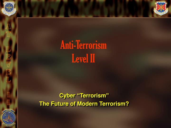Anti terrorism level ii