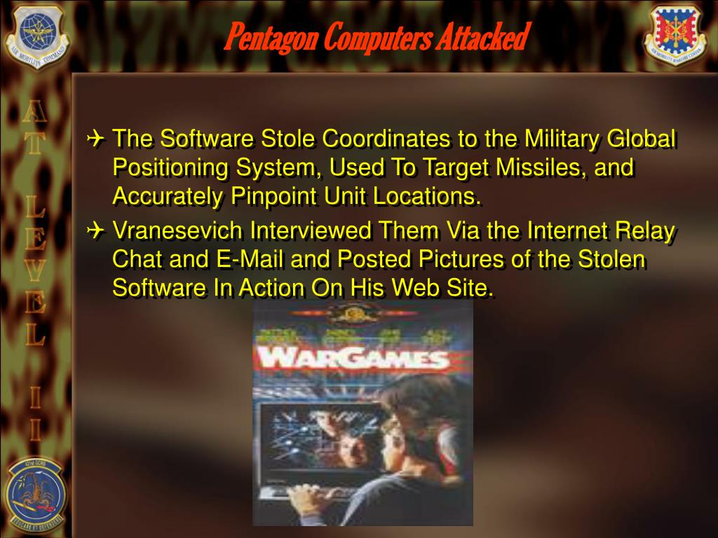 Pentagon Computers Attacked