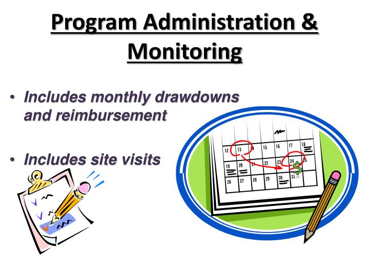 Program Administration & Monitoring