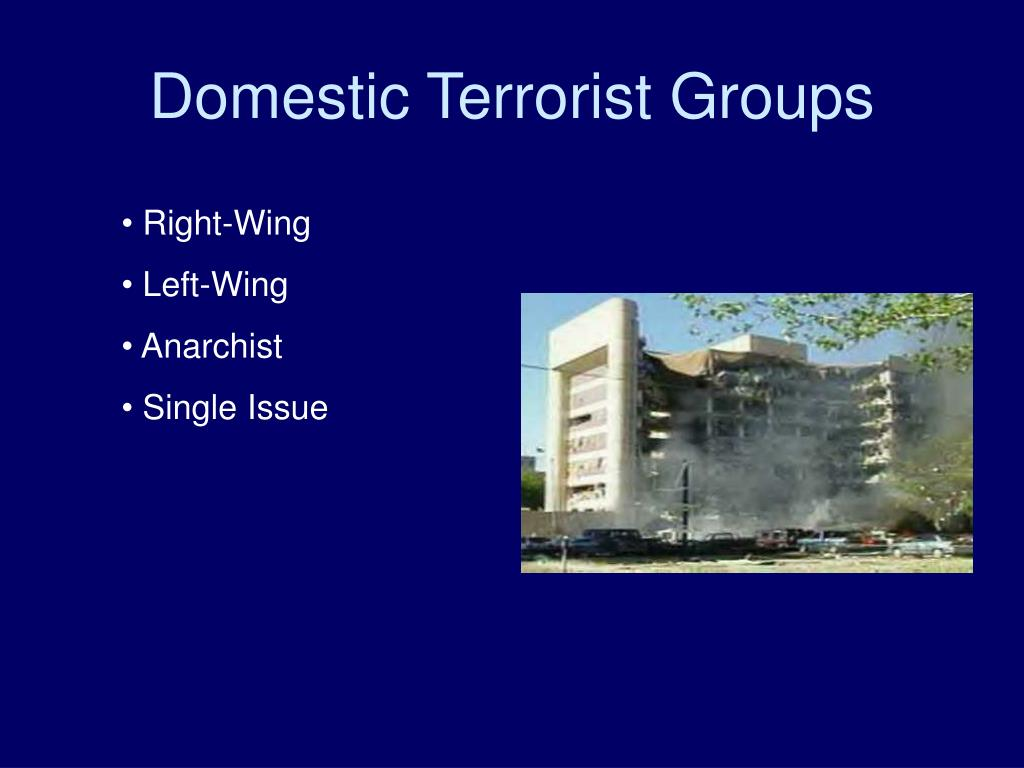Domestic Terrorist Groups