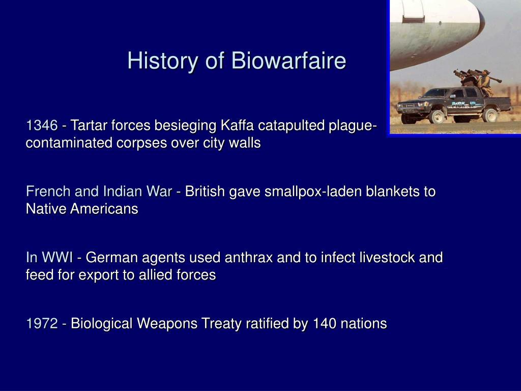 History of Biowarfaire