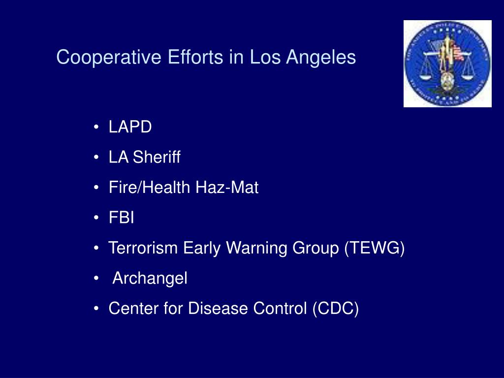 Cooperative Efforts in Los Angeles