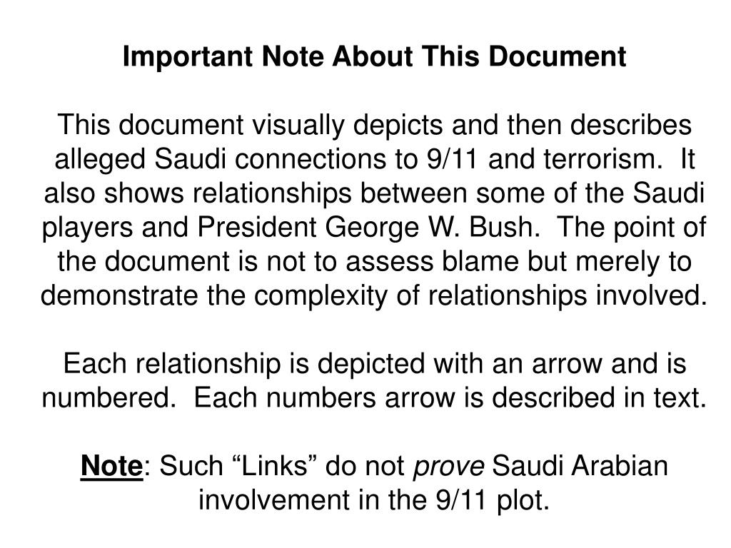 Important Note About This Document