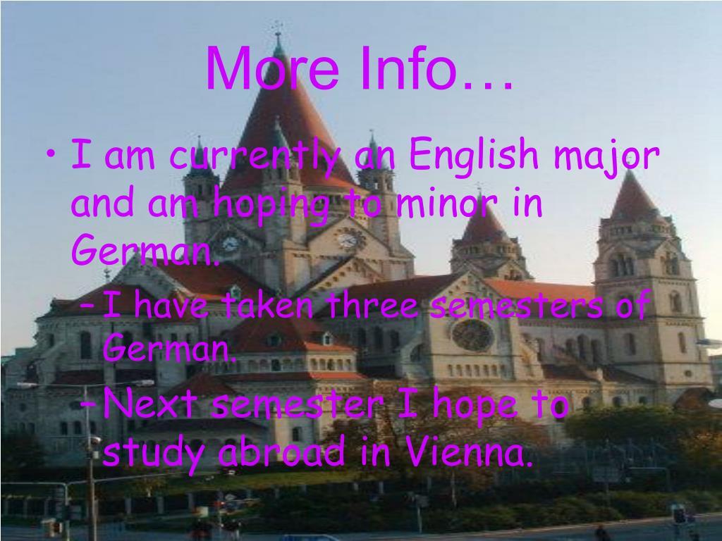 More Info…