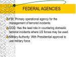 federal agencies28