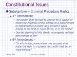 constitutional issues12