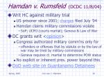 hamdan v rumsfeld dcdc 11 8 04