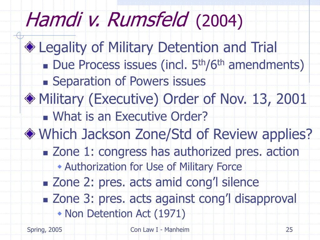 Hamdi v. Rumsfeld