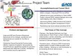 s ense d ecide a ct c ommunicate project team