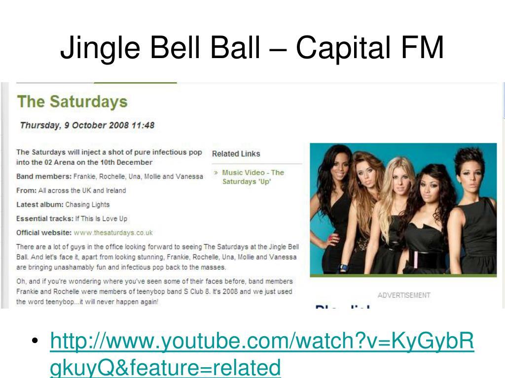 Jingle Bell Ball – Capital FM