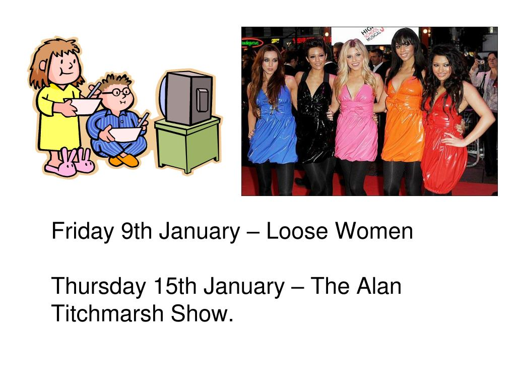 Friday 9th January – Loose Women