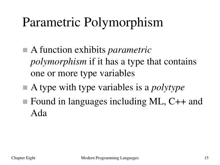 Parametric Polymorphism
