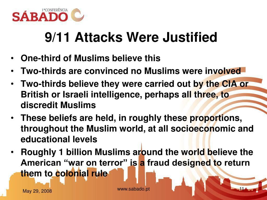 9/11 Attacks Were Justified