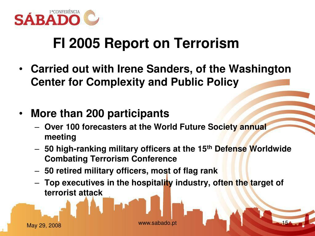 FI 2005 Report on Terrorism