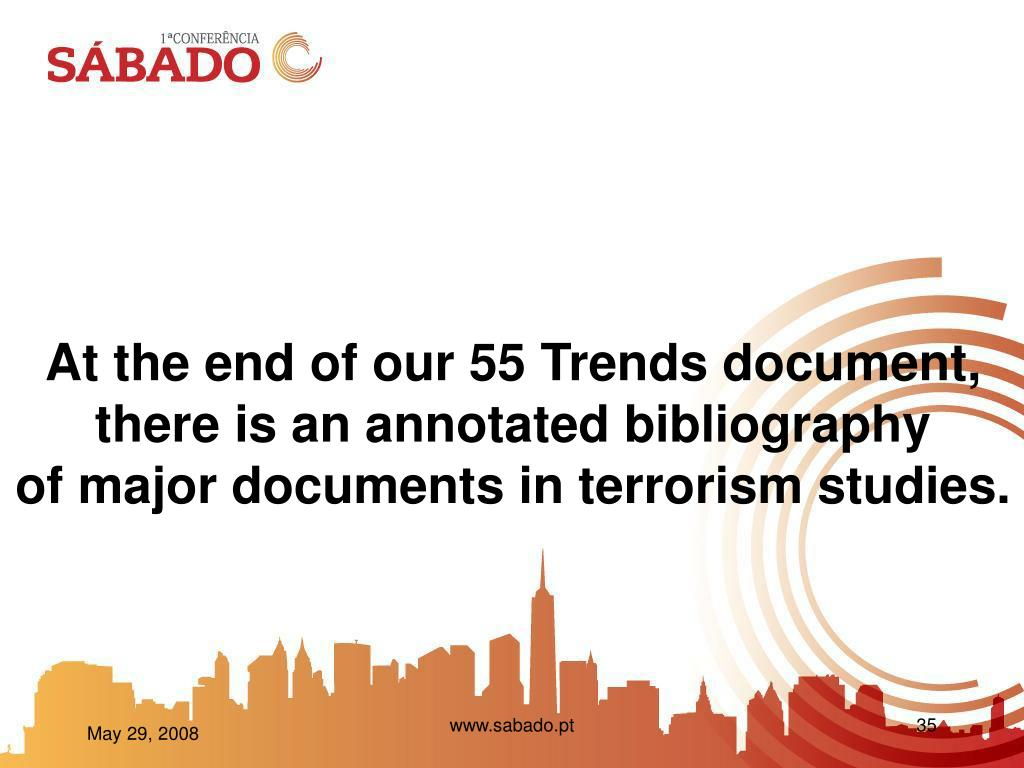 At the end of our 55 Trends document,