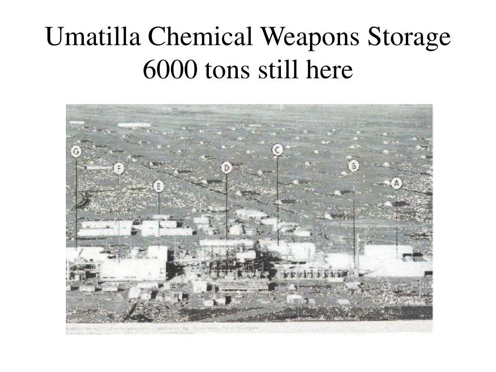 Umatilla Chemical Weapons Storage