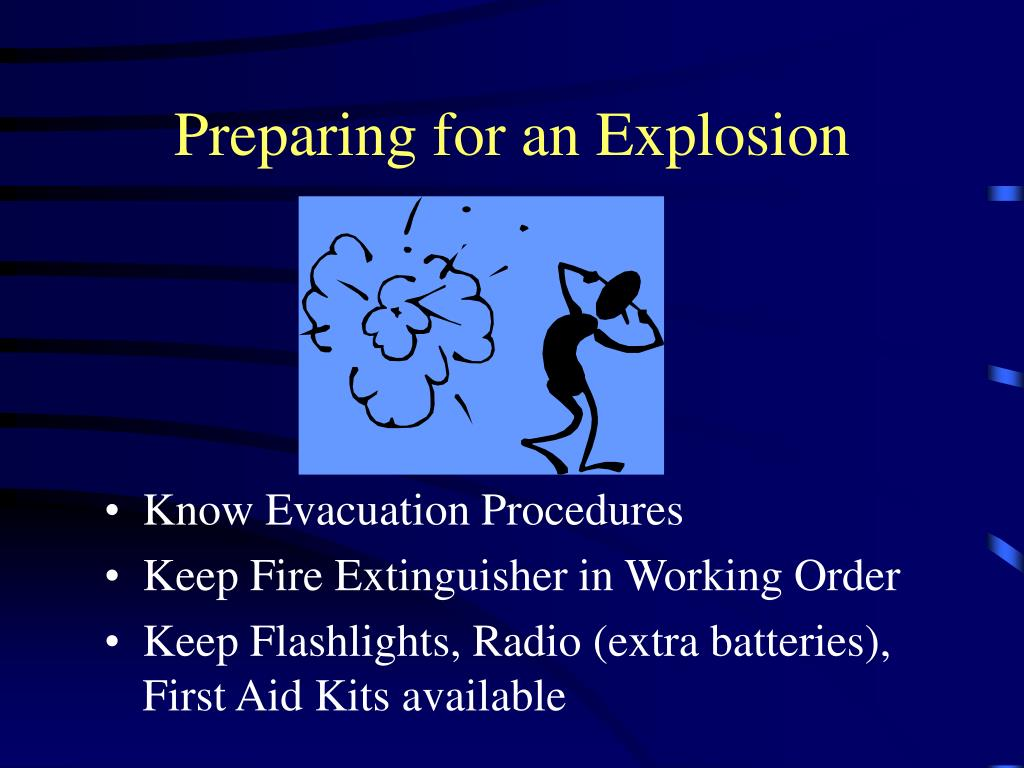 Preparing for an Explosion