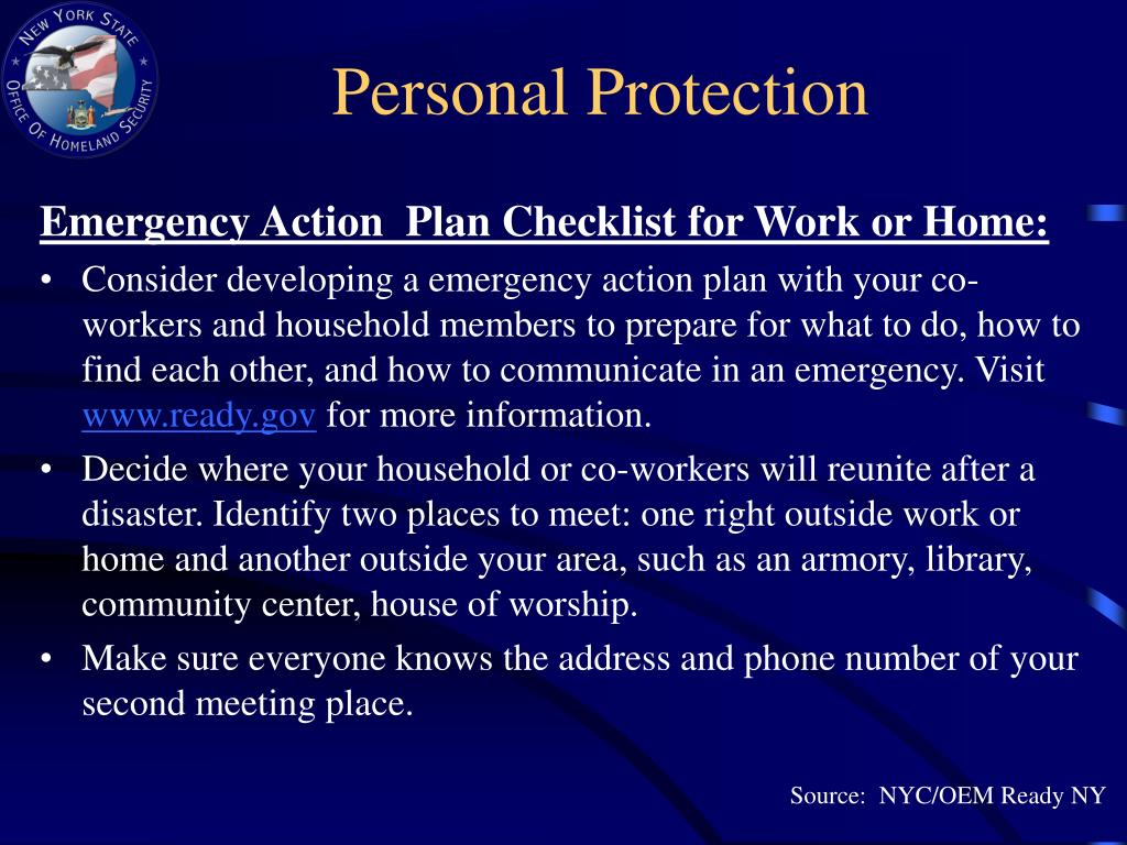 Personal Protection