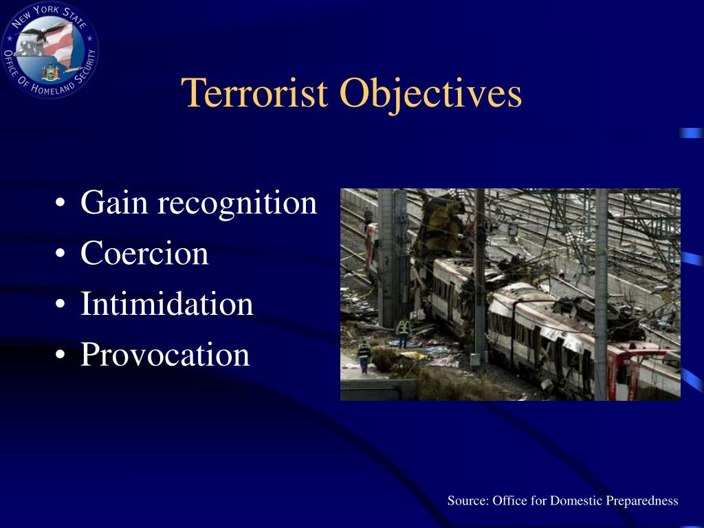 Terrorist Objectives
