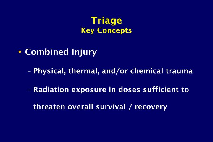 Triage key concepts3