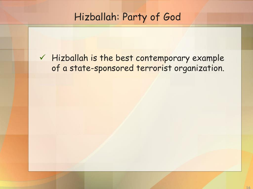 Hizballah: Party of God
