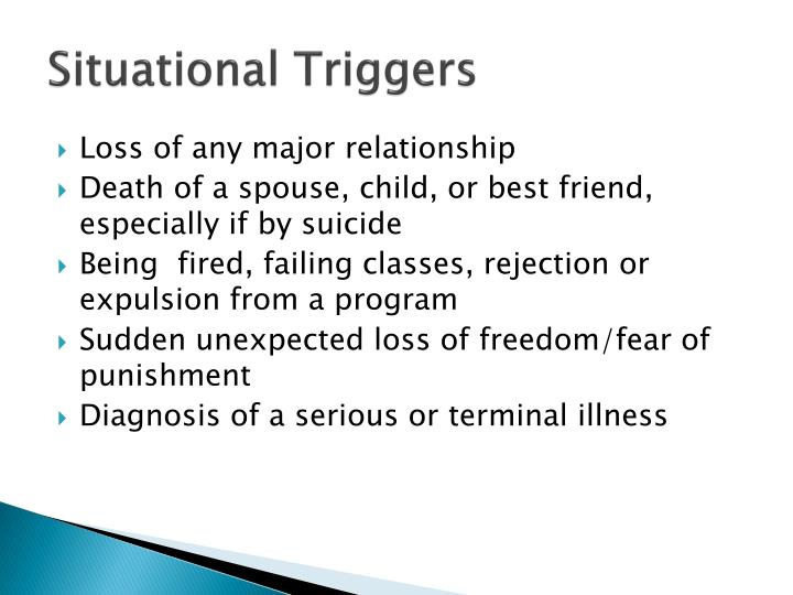 Situational Triggers
