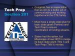 tech prep section 201