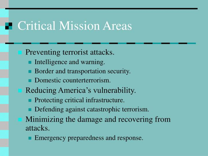 Critical mission areas l.jpg
