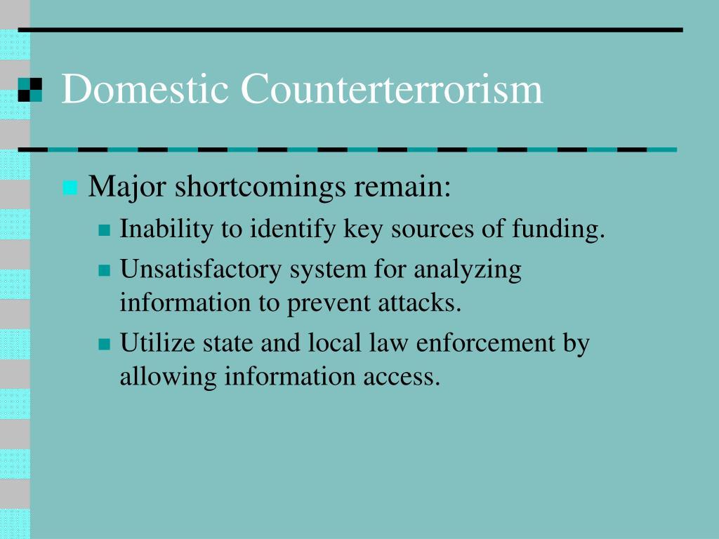 Domestic Counterterrorism