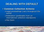 dealing with default1