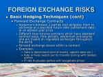 foreign exchange risks5